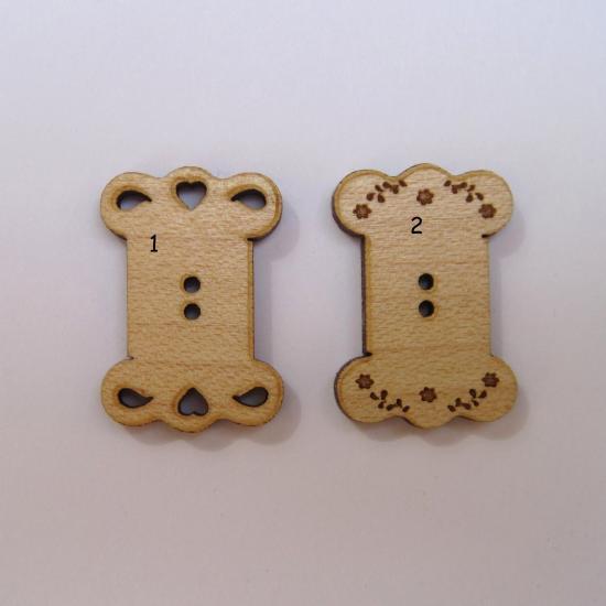 Bouton Cartonnette BLB011-BLB012