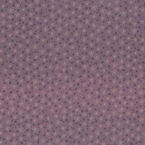 Tissus Patchwork Pins and Needles Tissu Paquerettes fond violet