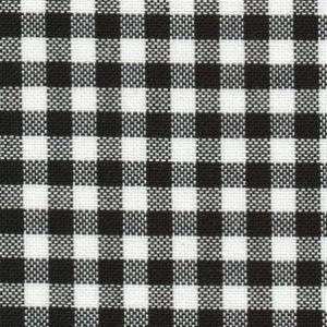 12 fils murano carreaux noirs pour broderie suisse