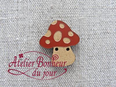 Champignon large tomette AU-01-T - Atelier Bonheur du jour