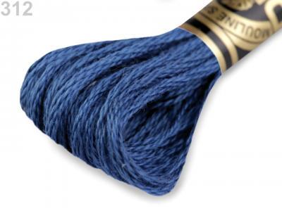 Fils à broder moulinés DMC Art. 117 - 312 à 550