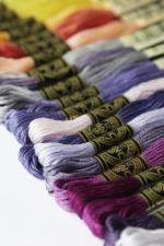 35 nouveaux coloris fis a broder mouline