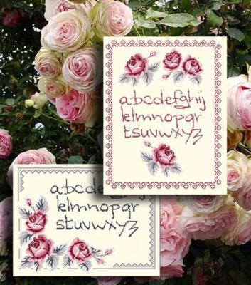 Abc aux roses N° 942 Au Fil de Martine
