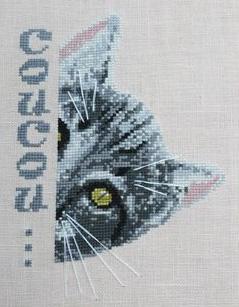 Coucou le chat... N°946 Au Fil de Martine