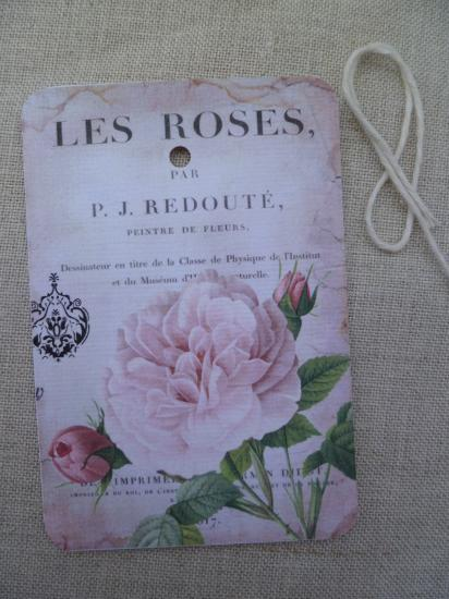 Etiquette Message Les Roses