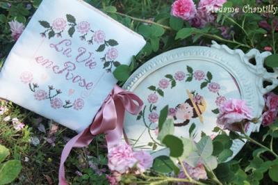 La Vie en Rose Madame Chantilly