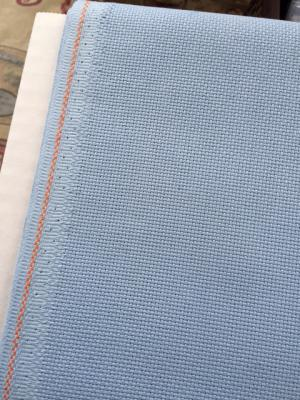 Toile à Broder Aïda 7 Pts Extra Fine 3793 Bleu Ciel 503