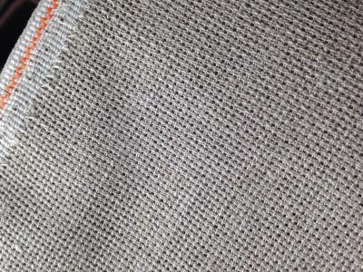 Toile à Broder Zweigart Aïda 3419 de lin naturel 7 pts 53