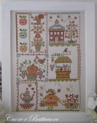 Autumn in quilt