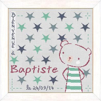 Baptiste dans les étoiles B016 Lilipoints
