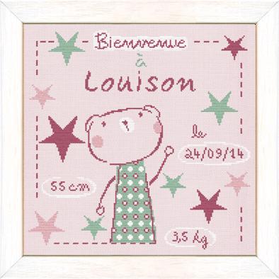 Louison dans les étoiles B017 Lilipoints