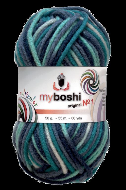 Laine myboshi Multicolor Art. 496 col. C3 Dolphin