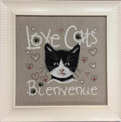 Bienvenue Cats LI09 Isabelle Haccourt Vautier