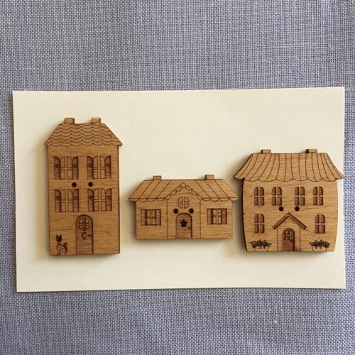 Boutons maisons
