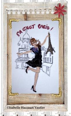 Ca c'est Paris ! mimi06 Isabelle Haccourt Vautier