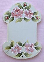 Cartonnette Ecru Rose Rose