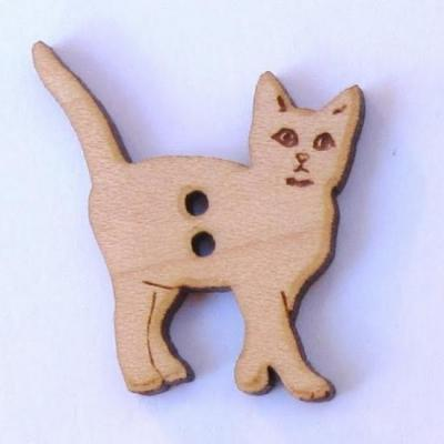 Bouton Chat Debout BLH001