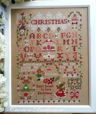 Christmas sampler 1