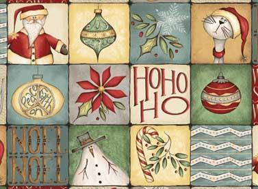 Coupon de Noël 'christmas Whimsy' 45x55 cm 003