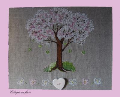 Ciliegio in fiore CV39   Serinità di Campagna
