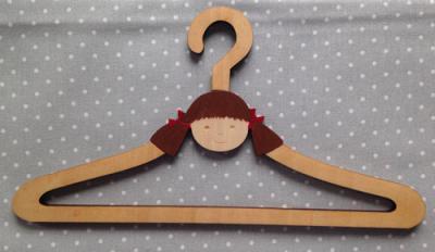 Mini Cintre Petite fille 20cm