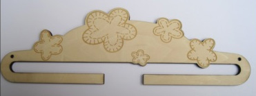 Cintre fleurs quilt cl00920