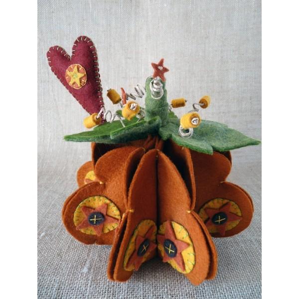 Citrouille pumpkin spice kit feutrine 2