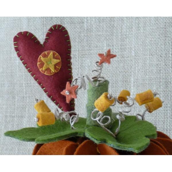 Citrouille pumpkin spice kit feutrine 3