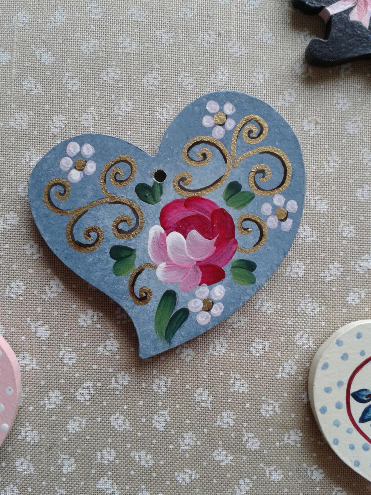 Coeur bleu pastel
