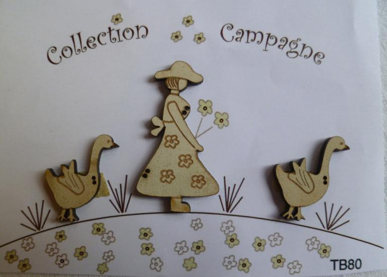 Collection Campagne Gardienne d'oie TB80