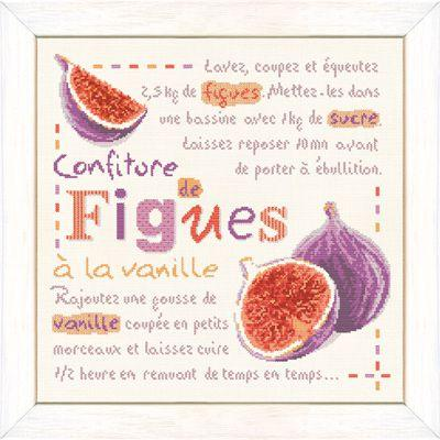 Confiture de figues G025 Lilipoints