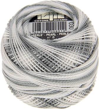 Fil coton perlé 8 ISPE Gris 30