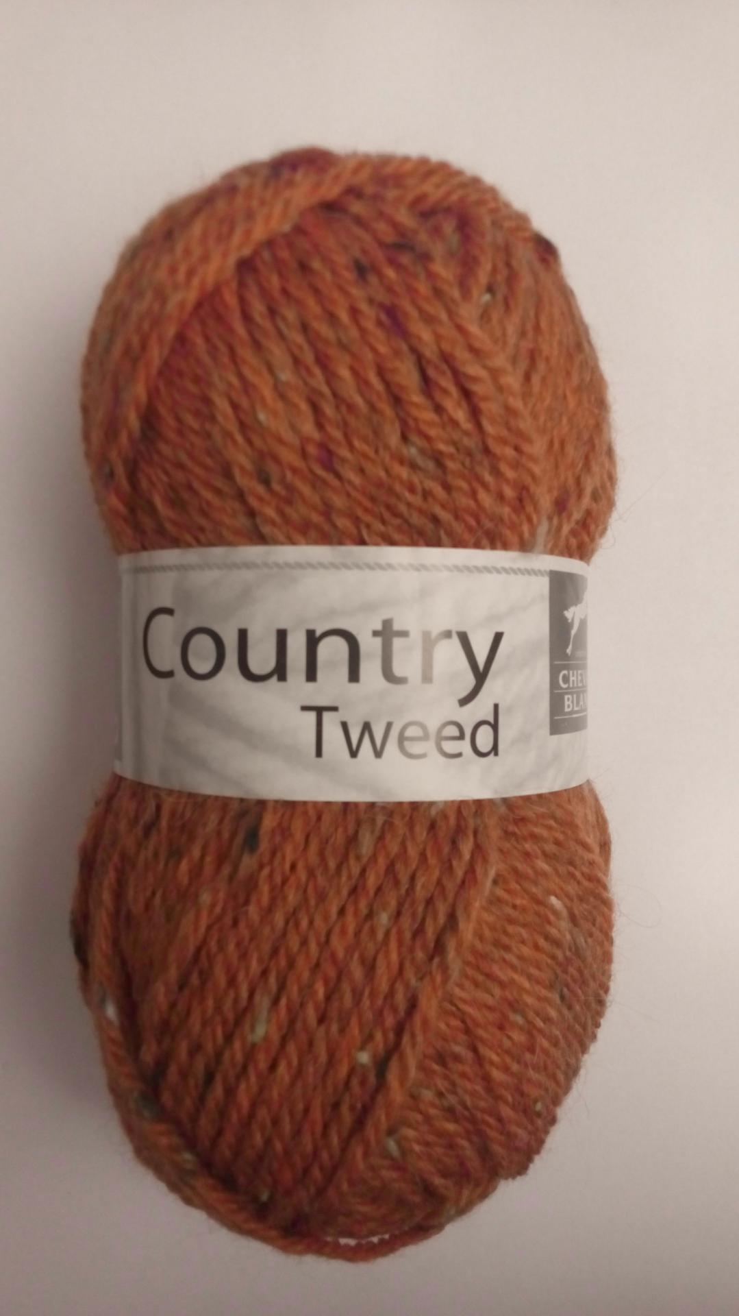 Country tweed rouille 142
