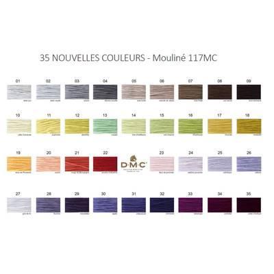 Dmc117 carte nouveaux coloris