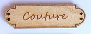 Bouton Bois Couture BLD008