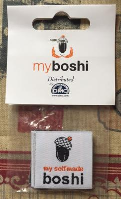 Etiquette vendu à l'unité pour coudre sur vos créations MYBOSHI