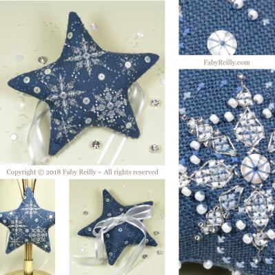Etoile Let itSnow - Faby Reilly Designs