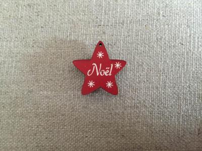 Etoile noel rouge 625