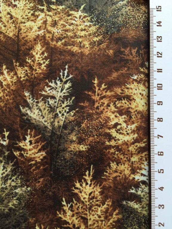 Tissus Patchwork Falls Canvas  avec Dorure Réf : 112 29171