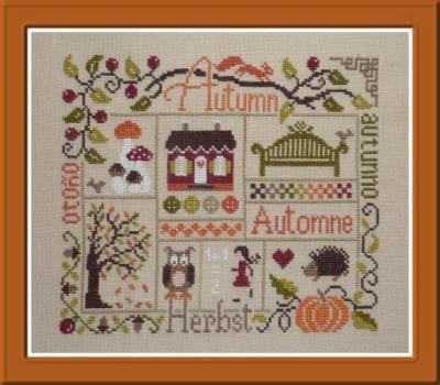 Sampler Automne FT42 Jardin Privé