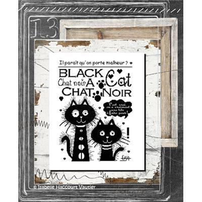 Black Cat BDN09 Isabelle Haccourt Vautier