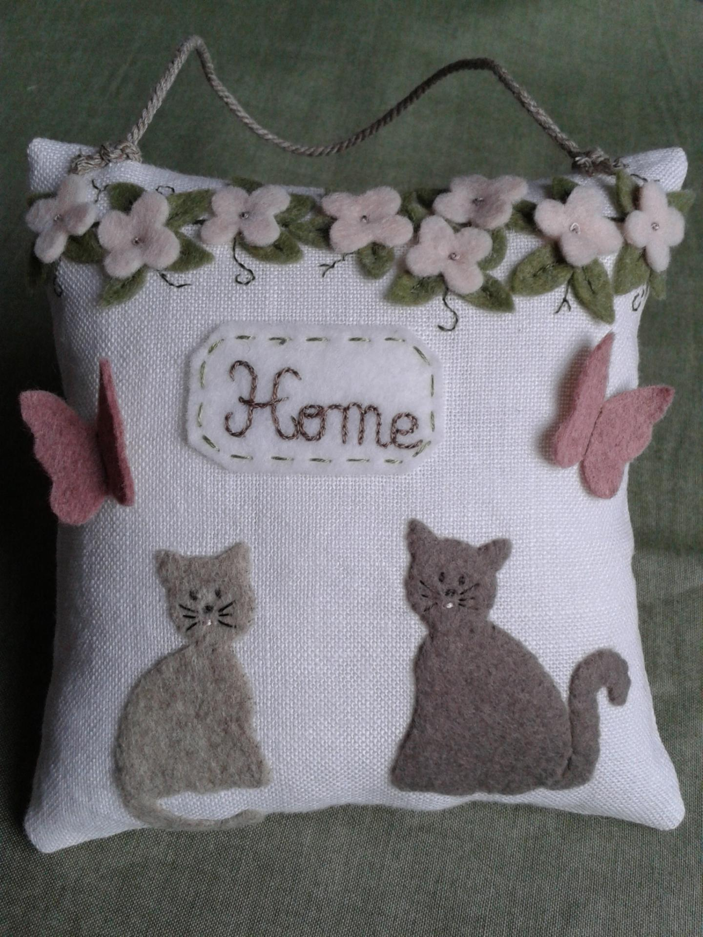 Kit coussin home chats 1
