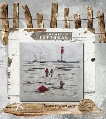 Les 3 pêcheurs à pieds PORT33 Isabelle Haccourt Vautier