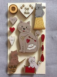 Les chats couture