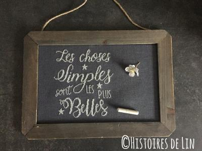 Les Choses Simples ref. : 4014 Histoires de Lin