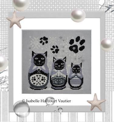 Les Matrioch'Cats RV254 Isabelle Haccourt Vautier
