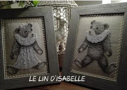 Les ours anciens du lin d isabelle