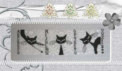 Les Psycho Cat's aiment la neige ! RV222 Isabelle Haccourt Vautier
