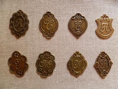 Lettres en Bronze