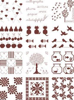Petit Livre de Couleurs Patchwork (12 modèles) Hiver 2011-2012 Alice and Co